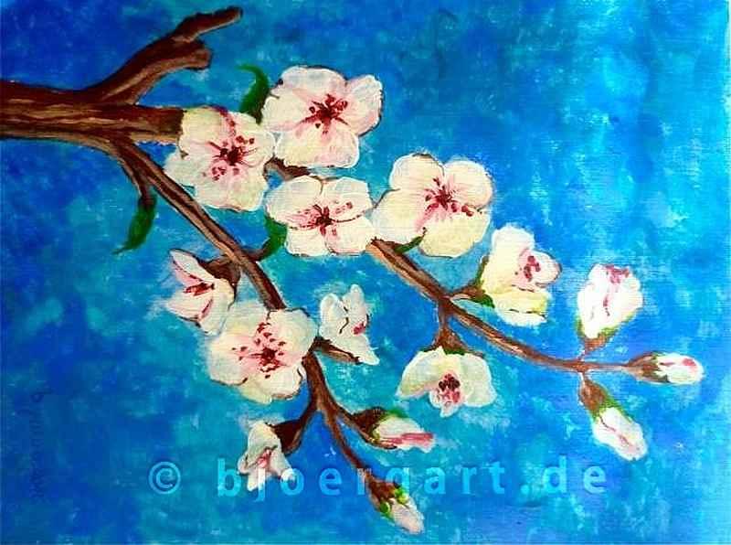 Fruit trees bloom...