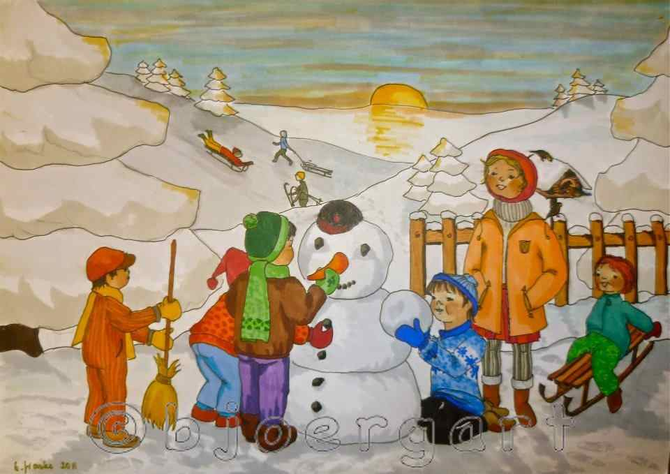 It's snowman time...