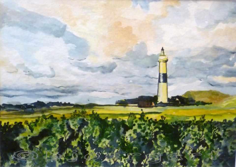 Der Leuchtturm von Sylt
